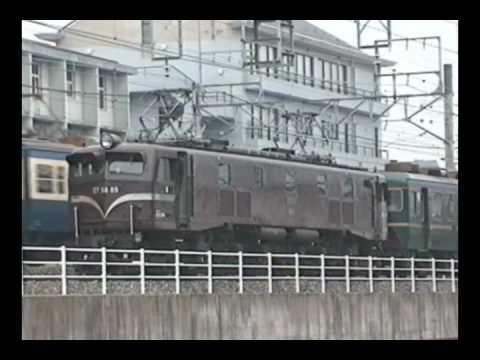 EF5889 白樺 成田線 1995.01.22