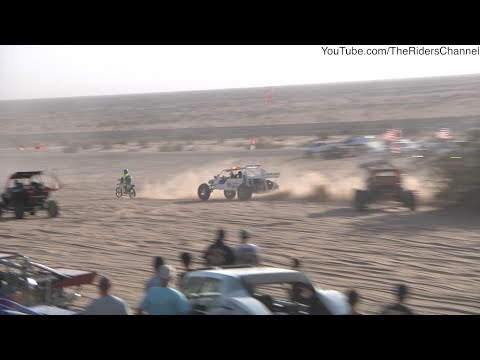 Glamis Motorcyclist Attempts to Outrun the Park Rangers Halloween 2014
