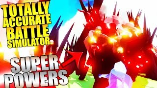 Totally Accurate Battle Simulator - SUPER HEROS VS SUPER VILLIANS - Funny Moments TABS Gameplay