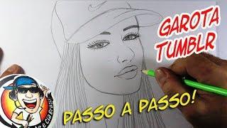 Download Video COMO DESENHAR GAROTA TUMBLR COM BONÉ - PASSO A PASSO MP3 3GP MP4