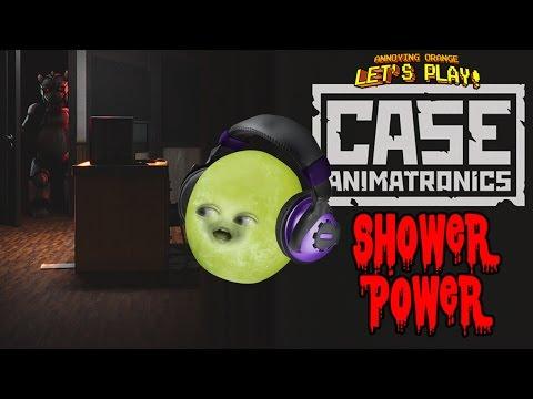 Gaming Grape Plays - Case Animatronics: SHOWER POWER (видео)