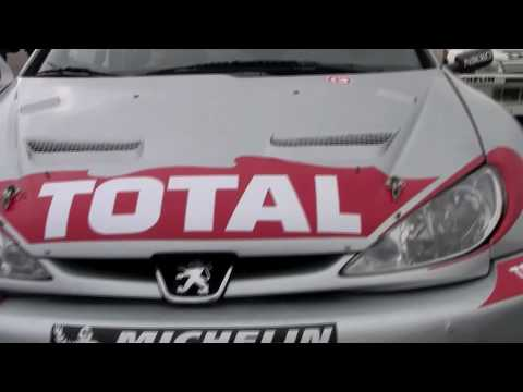 Historic Peugeot rally and racecars