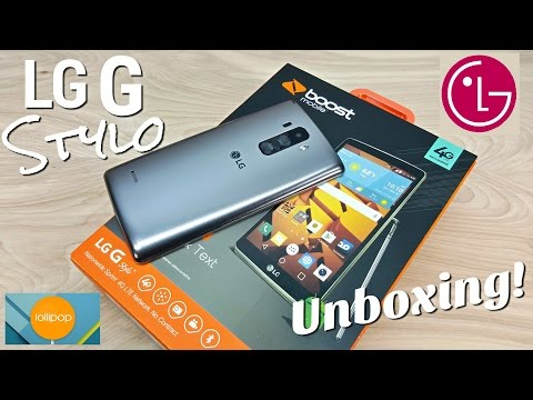 LG G Stylo - [Hands On] - LG G4 Alternative - Boost Mobile - 1GB/8GB - 5.7