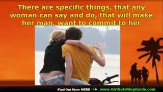 if you want to know What to do when he pulls away then comes back -▻▻ http://www.GirlgetsRingGuide.com ◅◅- And make him...