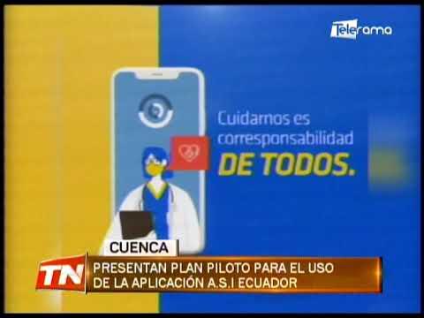 Presentan plan piloto para el uso de la aplicación A.S.I. Ecuador