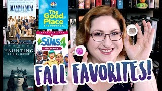 FALL FAVORITES (TV, Movies, Makeup, Video Games)