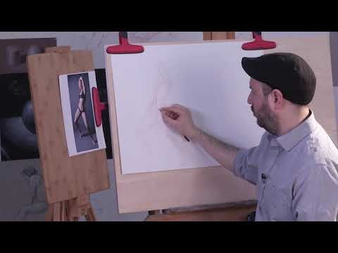 Preview | Figure Drawing Essentials: Getting Started with Gesture & Shape with Brent Eviston (видео)