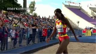 Fatima Diame - U23 Triple Jump Highlights (Better Quality)