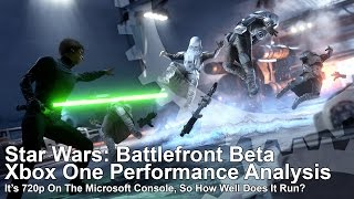 Here's how ‪Star Wars‬ ‪‎Battlefront‬ performs on Xbox One