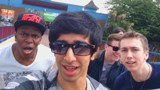 THORPE PARK VLOG with The Sidemen