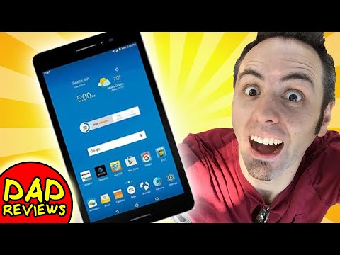 BEST BUDGET ANDROID TABLET | ZTE Trek 2 HD Tablet On AT&T Review