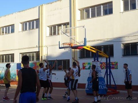 Resumen semifinales. Torneo Baloncesto Isla Cristina. Maccabi & Ayamonte