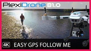 PlexiDrone - Ultra-Portable Camera Robot that You can Swarm
