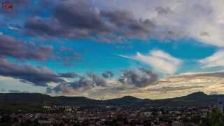 Aubiere France  City new picture : timelapse photography - Sunset over Aubiere France