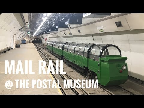 Mail Rail at The Postal Museum
