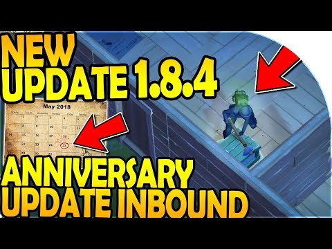 NEW UPDATE 1.8.4 - 1 YEAR ANNIVERSARY UPDATE INBOUND - Last Day On Earth Survival Update 1.8.4 (видео)