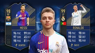 Video MESSI VS RONALDO | Fifa 18 TOTY Edition MP3, 3GP, MP4, WEBM, AVI, FLV Oktober 2018