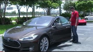 Tesla Model S Performance Test Drive With MMASSASSIN