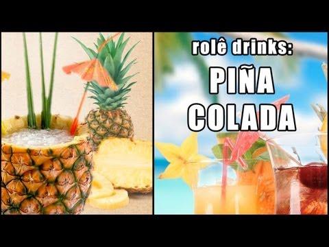 drinks - CURTA o vídeo! INSCREVA-SE NO CANAL!) Aprenda a fazer Piña Colada! Mais um bom drink tropical de verão feito no inverno da Califórnia nos estúdios da Tastem...