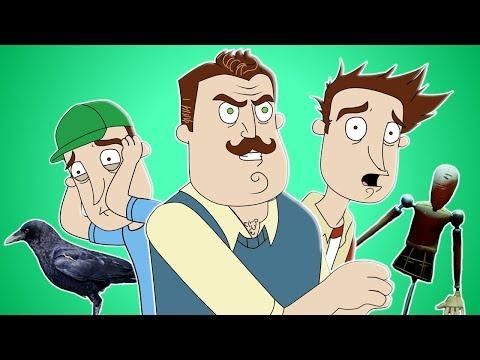 ♪ HELLO NEIGHBOR SONG - Animated Music Video (видео)
