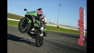 6. 2018 Kawasaki Ninja 400 Road and Track Test - Cycle News