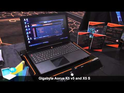 Gigabyte Aorus X5 v5 and X5 S v5 with Intel Skylake