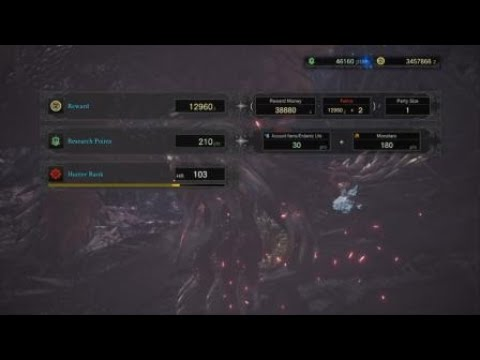 Monster Hunter: World HR100 Quest | The Sapphire Star's Guidance | Charge Blade Loadout