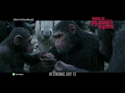 War For The Planet Of The Apes [Official International Theatrical Trailer #4 (HD)]