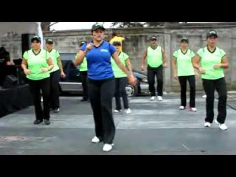 Baile aerobico para Principiantes: La Vida es un Carnaval