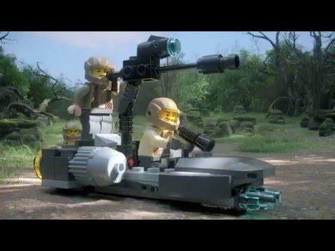 Конструктор Боевой набор Сопротивления - LEGO STAR WARS - фото № 11