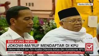 Video Breaking News! Berkas Lengkap, Jokowi-Ma'ruf Resmi Daftar Capres-Cawapres #JokowiMaruf MP3, 3GP, MP4, WEBM, AVI, FLV Mei 2019