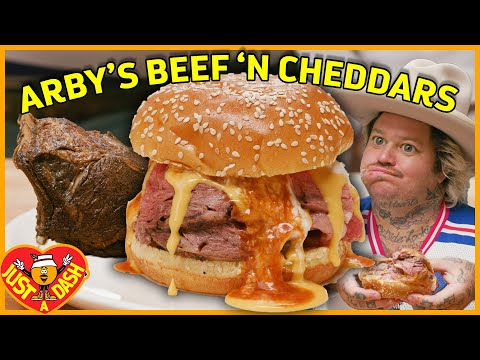 Arby's Beef'n Cheddars Gone Wild West | Matty Matheson | Just A Dash | S02 EP 8