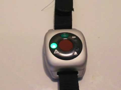 Medical Alert System – Example of Vibrating Wrist Panic Button