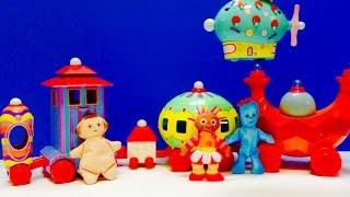 In The Night Garden the Ninky Nonk and Pinky Ponk Toys
