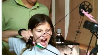 Bow And Arrow Tooth Removal - Brave Little Girl