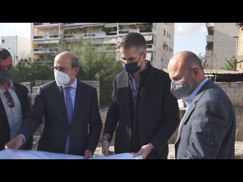 Αυτοψία σε κτίριο που έχει κριθεί επικινδύνως ετοιμόρροπο στη Ριζούπολη