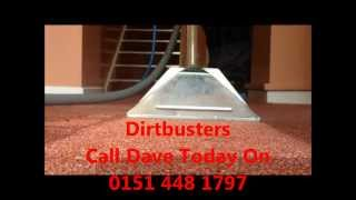 Steam carpet cleaning in Liverpool