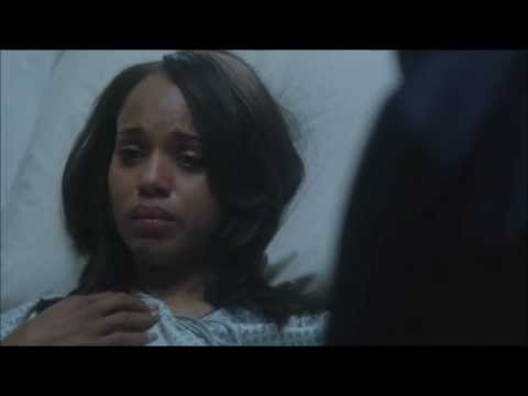 Olivia and Fitz 2x18 Last scene - Fitz visits Liv in the hospital