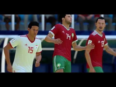 FIFA World Cup Russia 2018 Group B Match Morocco Iran