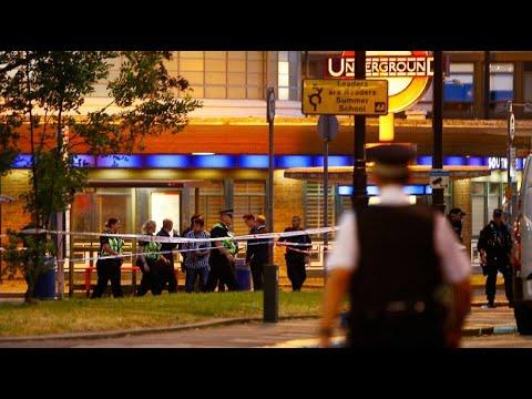 Explosion in Londoner U-Bahn-Station - der Bereich um ...