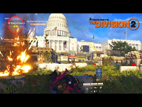 The Capitol Building Raid! The Division 2