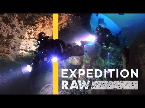 Gevangen in een onderwaterlawine
