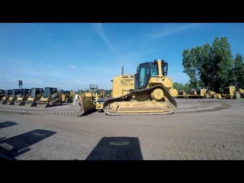 CATERPILLAR TRACK TYPE TRACTORS D6NLGP equipment video L9eQ71mAKEE