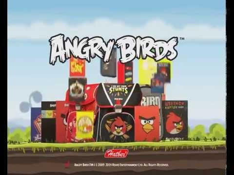 Улётная коллекция AngryBirds от Hatber.