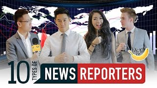 Video 10 Types Of News Reporters MP3, 3GP, MP4, WEBM, AVI, FLV April 2019