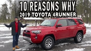 10 Reasons To Buy a 2019 Toyota 4Runner