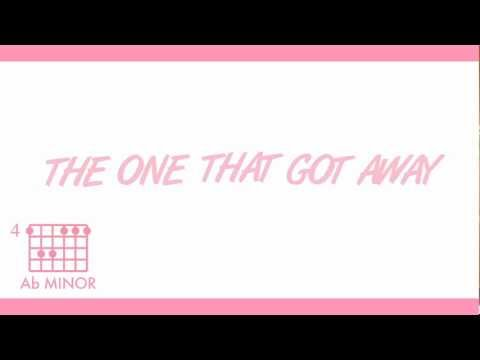 """Katy Perry - """"The One That Got Away (Acoustic)"""" Official Chord & Lyric Video"""