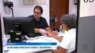 Apesar de obrigatória, procura por cadastramento biométrico é baixa em Marília