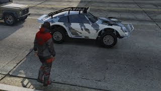 PORSCHE SAFARI & ELEKTRISCHE SPORTS AUTO PIMPEN! (GTA V Online Doomsday Heist DLC)