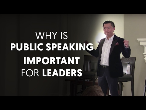 Why Is Public Speaking Important For Leaders?